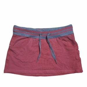 Lululemon skirt womens size 4 red and grey